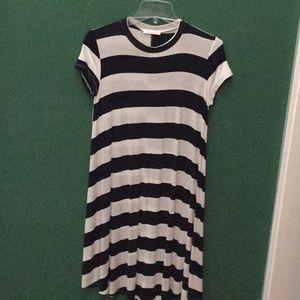 Dresses & Skirts - Reborn J navy and white dress.